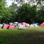 Zeltlager auf dem Bergturnfest 2013